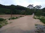 Mưa lớn gây nhiều thiệt hại ở huyện Lục Yên, Yên Bái