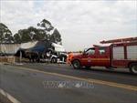 Xe tải đâm nhau trên cao tốc tại Brazil khiến ít nhất 12 người tử vong