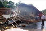 Mưa do ảnh hưởng bão số 8 khiến việc cứu trợ tại Quảng Trị gặp khó khăn