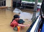 Tình hình mưa lũ ngày 21/10: Tập trung khắc phục hậu quả mưa lũ, ứng phó bão số 8