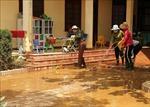 Nước trên các sông tại Quảng Bình đang xuống nhanh