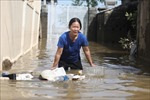 Tình hình mưa lũ ngày 22/10: Khẩn trương khắc phục hậu quả lũ lụt