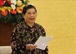 Đồng chí Tòng Thị Phóng dự Đại hội đại biểu Đảng bộ tỉnh Quảng Ngãi lần thứ XX