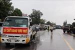 Đề nghị miễn phí BOT cho xe chở hàng cứu trợ đồng bào miền Trung