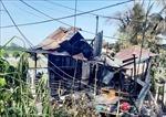 Hỏa hoạn thiêu rụi 7 căn nhà ở thành phố Châu Đốc, An Giang