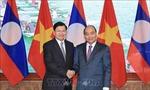 Không ngừng thúc đẩy quan hệ hợp tác Việt Nam-Lào