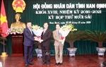 Bầu các lãnh đạo HĐND và UBND tỉnh Nam Định nhiệm kỳ 2021-2026