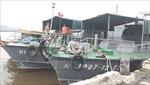Ứng cứu tàu cá của ngư dân gặp nạn trên biển