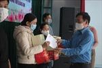Trao quà Tết của Thủ tướng Chính phủ tặng công nhân có hoàn cảnh khó khăn