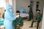 Hải Dương lấy mẫu xét nghiệm cho công dân trúng tuyển nghĩa vụ quân sự