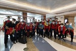 Đội tuyển futsal Việt Nam đã có mặt tại UAE