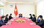 Thủ tướng Phạm Minh Chính điện đàm với Thủ tướng Đức Angela Merkel