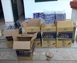 Bình Phước: Một ngày mật phục bắt 6 vụ vận chuyển thuốc lá lậu