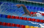 Kình ngư Ánh Viên dừng bước tại vòng loại 800m tự do nữ