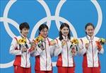 Bơi lội Trung Quốc phá kỷ lục thế giới ở cự ly 4x200m bơi tiếp sức tự do nữ