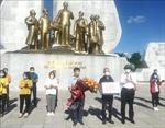 Cán bộ y tế các tỉnh hỗ trợ TP Hồ Chí Minh và Bình Dương chống dịch COVID-19