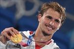 HCV quần vợt đơn nam: Cột mốc cho người Đức, niềm vui của người Nga