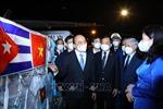 Chủ tịch nước dự Lễ bàn giao vaccine và trang thiết bị y tế từ chuyến công tác tại Cuba và Hoa Kỳ