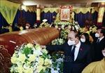 Lãnh đạo Đảng, Nhà nước đến viếng và gửi vòng hoa viếng Đại lão Hòa thượng Thích Phổ Tuệ