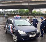Xử phạt xe khách, taxi hoạt động trong thời gian giãn cách xã hội