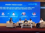 Thiết lập cơ chế phối hợp bảo vệ trẻ em trên môi trường mạng