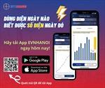 Tải và sử dụng App EVNHANOI để theo dõi lượng điện dùng hàng ngày
