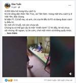Cộng đồng mạng chùng lòng trước bức ảnh cậu bé 3 tuổi trong khu cách ly