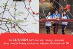 Trường Đại học Bách khoa Hà Nội cho sinh viên trở lại trường