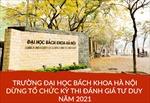 Trường Đại học Bách khoa Hà Nội dừng tổ chức kỳ thi đánh giá tư duy năm 2021