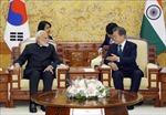 Hàn Quốc, Ấn Độ nhất trí tăng cường hợp tác quốc phòng, kinh tế
