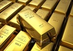 Giá vàng giảm xuống gần mức thấp nhất trong 4 tháng