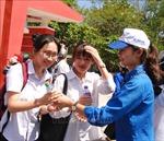 Đoàn Thanh niên các địa phương tham gia tiếp sức mùa thi