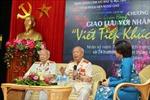 Giao lưu với Thiếu tướng Huỳnh Đắc Hương và Nguyễn Đức Minh