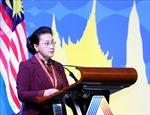 Chủ tịch Quốc hội Nguyễn Thị Kim Ngân phát biểu tại Phiên toàn thể thứ nhất AIPA 40