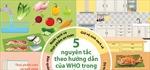 5 nguyên tắc trong chế biến để thực phẩm an toàn hơn