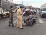 Xác định danh tính các nạn nhân vụ tai nạn giao thông tại Sóc Sơn, Hà Nội