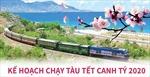Kế hoạch chạy tàu Tết Canh Tý 2020