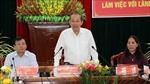 Phó Thủ tướng Trương Hòa Bình làm việc với lãnh đạo tỉnh Kon Tum 