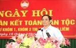 Trưởng Ban Tổ chức Trung ương Phạm Minh Chính dự Ngày hội Đại đoàn kết tại Vĩnh Long
