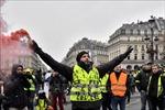 Pháp: Số lượng người biểu tình 'Áo vàng' giảm mạnh