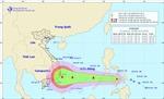 Áp thấp nhiệt đới giật cấp 9 đi vào Biển Đông, có khả năng mạnh lên thành bão