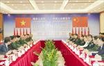 Đại tướng Ngô Xuân Lịch hội đàm với Thượng tướng Ngụy Phượng Hòa