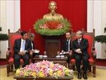 Việt Nam - Myanmar chia sẻ kinh nghiệm xây dựng đảng, đào tạo cán bộ