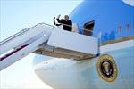 Những hình ảnh cuối cùng của Tổng thống Trump và gia đình tại Washington D.C