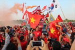 Trận Việt Nam-Malaysia: Khán giả vào sân phải qua cổng từ an ninh