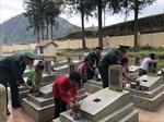 Thế hệ trẻ tri ân các anh hùng liệt sĩ trong cuộc chiến đấu bảo vệ biên giới phía Bắc