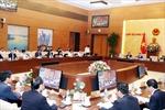 Nghị quyết phiên họp chuyên đề về xây dựng pháp luật tháng 3/2019