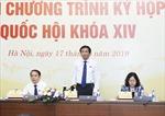 5 nhóm vấn đề 'nóng'tại phiên chất vấn của Kỳ họp thứ7, Quốc hội khóa XIV