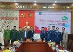 BTL Vùng Cảnh sát biển 1 thăm và chúc Tết tại huyện đảo Cô Tô