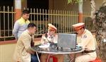 Cục Cảnh sát giao thông thí điểm nộp tiền phạt qua Cổng dịch vụ công quốc gia